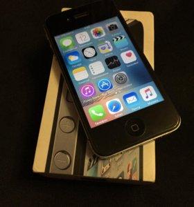 iPhone 4s black / white