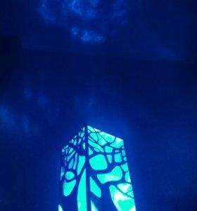 Светильник Ночник loft ручная работа