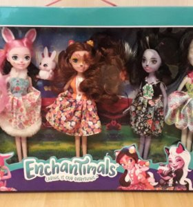 Куклы Enchantimals(энчантинмэлс)