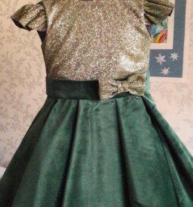 Платье, благородный бархат