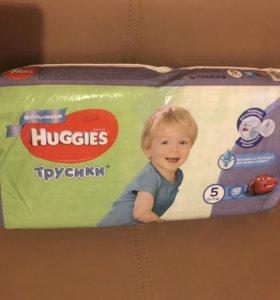 Трусики Huggies 5 новая пачка
