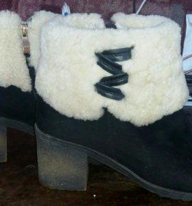 Зимние ботинки 40р.