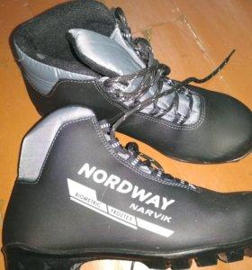 Ботинки на беговые лыжи