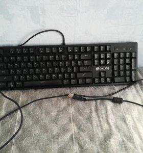 Клавиатура Oklick 940G vortex Black USB