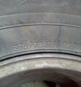 колёса на дисках зимние шипованые