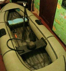 Лодка Уфимка 21 резиновая
