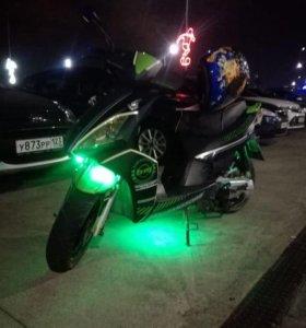 Продам скутер БМТ Галактика 2.0