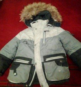 Костюм зимний:куртка на овечьей подстежке