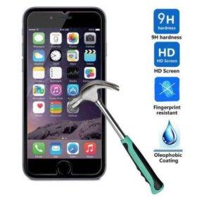 Новое защитное стекло для iPhone 5; 5S