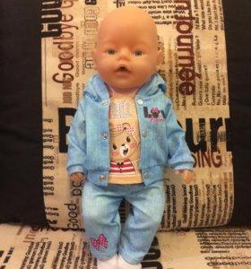 Одежда для кукол беби бон
