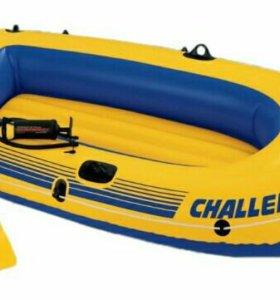 Надувная лодка challendger 2