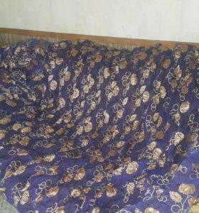Большое покрывало диван кровать