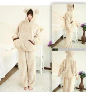 Теплая зимняя пижама