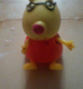 Игрушка из мультика свинка пеппа