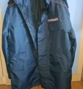 Продаю новую ветровлагозащитную куртку полиция