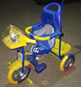 Велосипед детский трехколесный новый