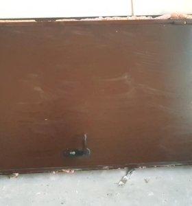 Входная железная дверь. Размер 1000х2130х200