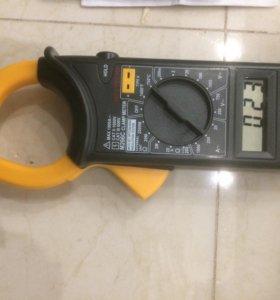 Клещи ток М266С измеритель