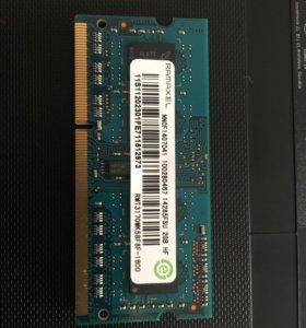 2 + 4 GB Оперативная память для ноутбука