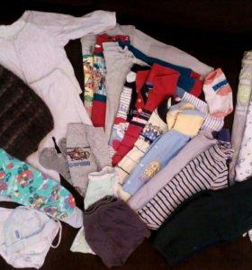 Вещи пакетом (на мальчика)США+погремушки в подарок