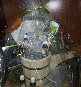Набор для сауны в подарочной упаковке