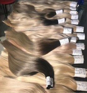 Наращивание волос натуральные волосы