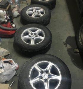 Комплект колёс оригинал Лексус