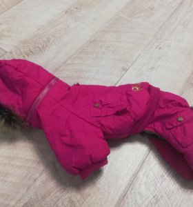 Зимний комбинезон для собаки (костюм для таксы)