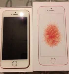 iPhone se rose gold 32