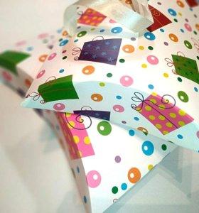 Подарочная коробочка-конверт № 19