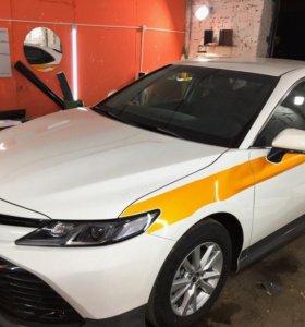 Оклейка такси по госту / Яндекс брендирование