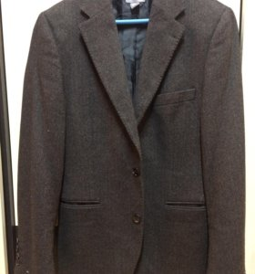 Новый мужской твидовый пиджак hm zara 46