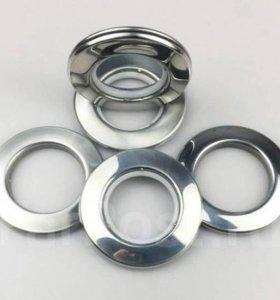 Люверсы (кольца) для штор металлические