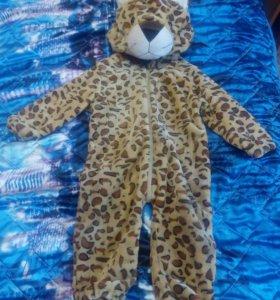 Комбинезон костюм новогодний Леопард