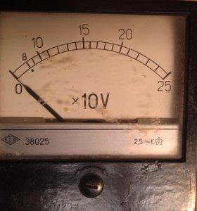 Головка вольтметра до 250 вольт