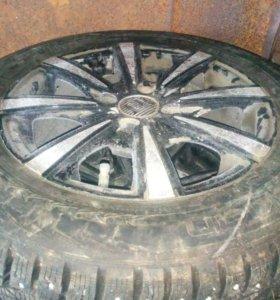 Диск и шины на ваз нокия хака-7