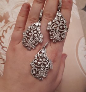 Серебрянный комплект