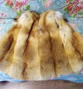 Жилет из лисы