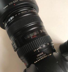 Объектив Canon 24-105 f4