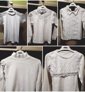Школьные блузки, майки,футболки