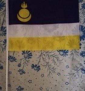 Флаг Бурятия