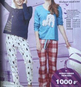 Женская пижама с мишками