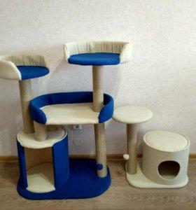 Новый домик когтеточка дом для кошек 130