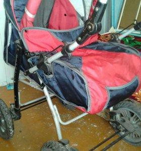 коляска детская, зима-лето