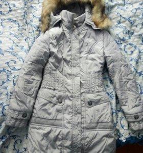 Куртка-пальто 42 размер наполнитель холофайбер