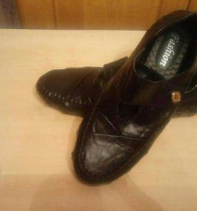 Мужские туфли (мокасины)