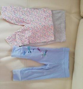 Ползунки и штаны на девочку