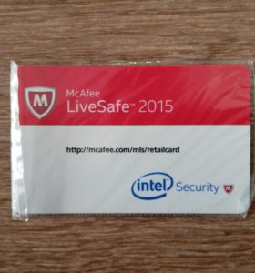 Антивирус McAfee Live Safe
