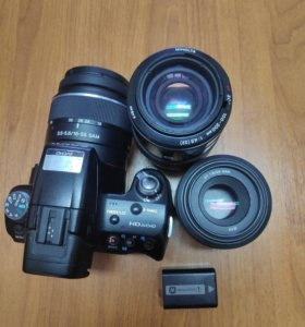 Фотоаппарат Sony a35 в комплекте