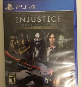 INJUSTICE GODS AWONG US на PS4